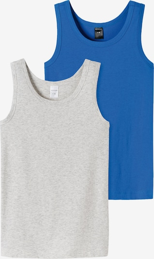 SCHIESSER Tanktops in blau / grau, Produktansicht