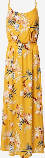 ONLY Robe en jaune / mélange de couleurs, Vue avec produit