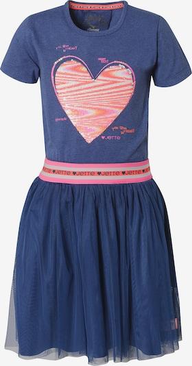 JETTE BY STACCATO Kleid in himmelblau / orange / altrosa / hellpink / weiß, Produktansicht