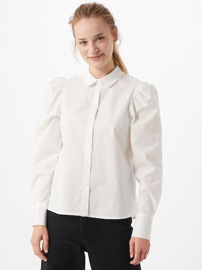 ONLY Blouse 'Freddy' in de kleur Wit, Modelweergave