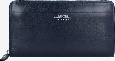 Maître Portemonnee 'Dietrun' in de kleur Donkerblauw / Wit, Productweergave