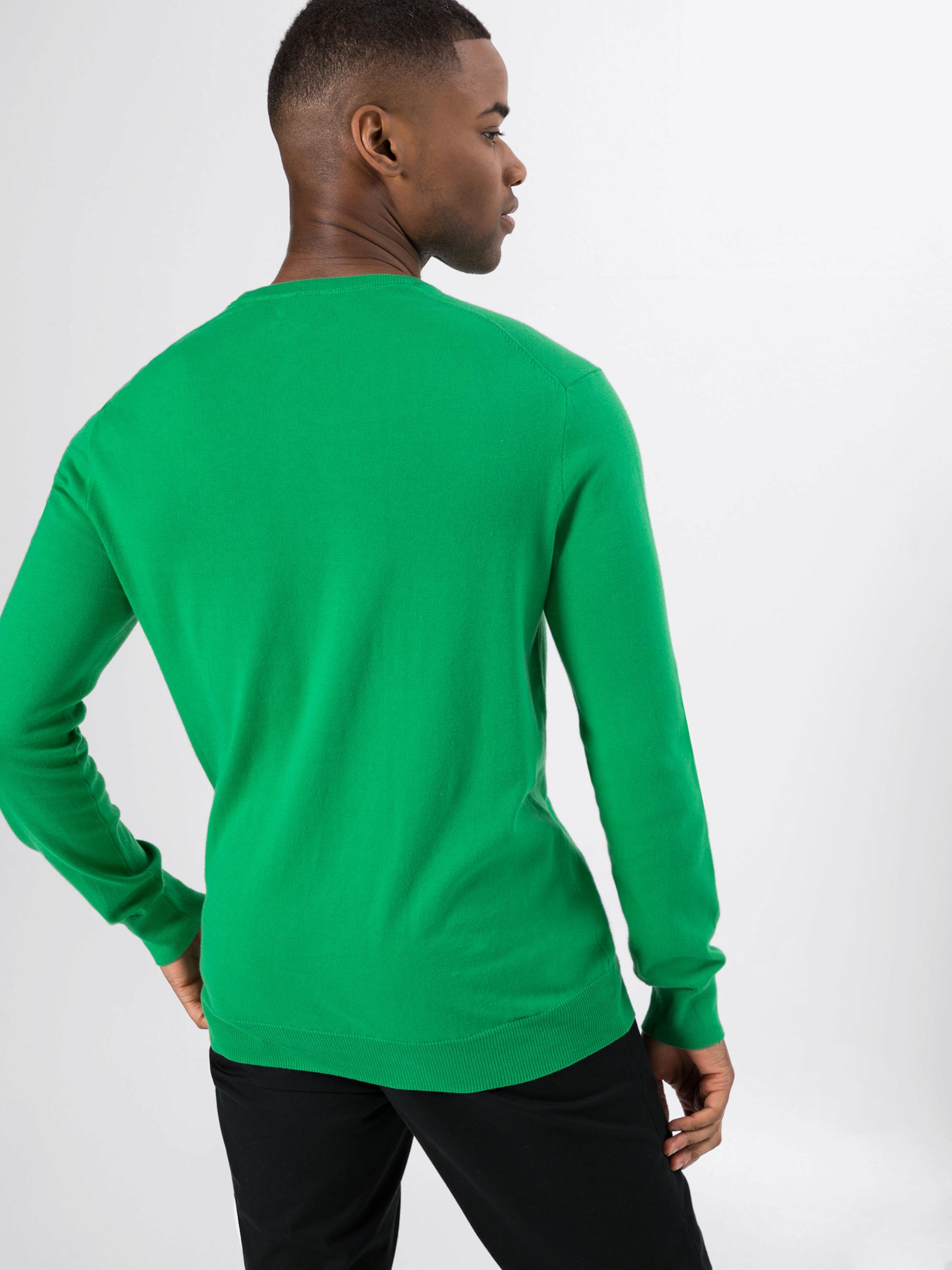 sweater' 'ls Polo Sleeve long Vert over Sf Cn Pp Foncé Ralph En Lauren Pull cFJK1lT