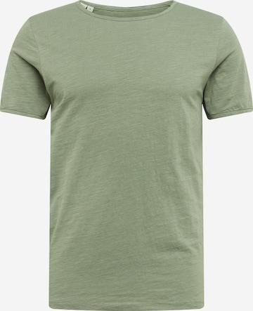 SELECTED HOMME T-Shirt 'Morgan' in Grün