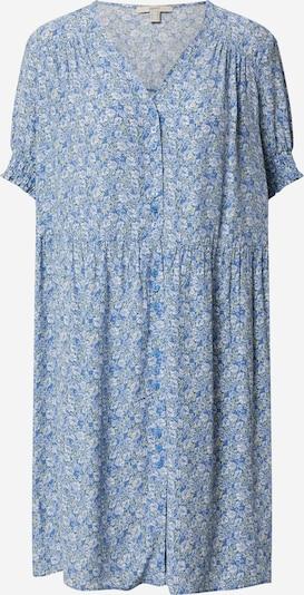 ESPRIT Kleid 'AOP Vneck btn' in hellblau, Produktansicht