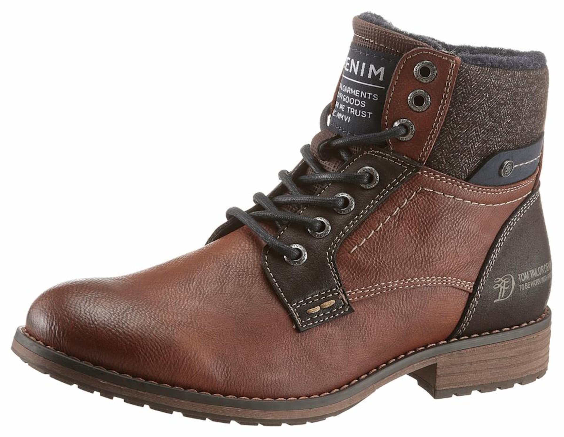 TOM TAILOR Winterstiefel Verschleißfeste billige Schuhe