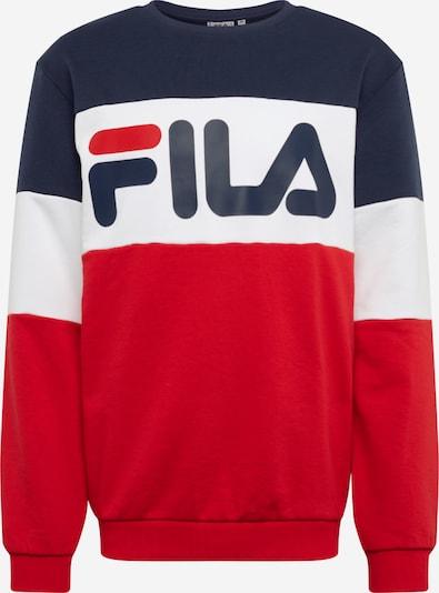 FILA Sweatshirt in rot / schwarz / weiß, Produktansicht