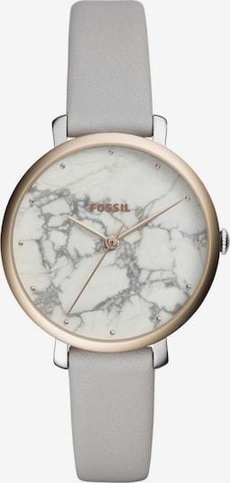 FOSSIL Quarzuhr 'JACQUELINE' in grau / silber, Produktansicht