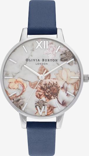 Olivia Burton Uhr in dunkelblau / silber, Produktansicht