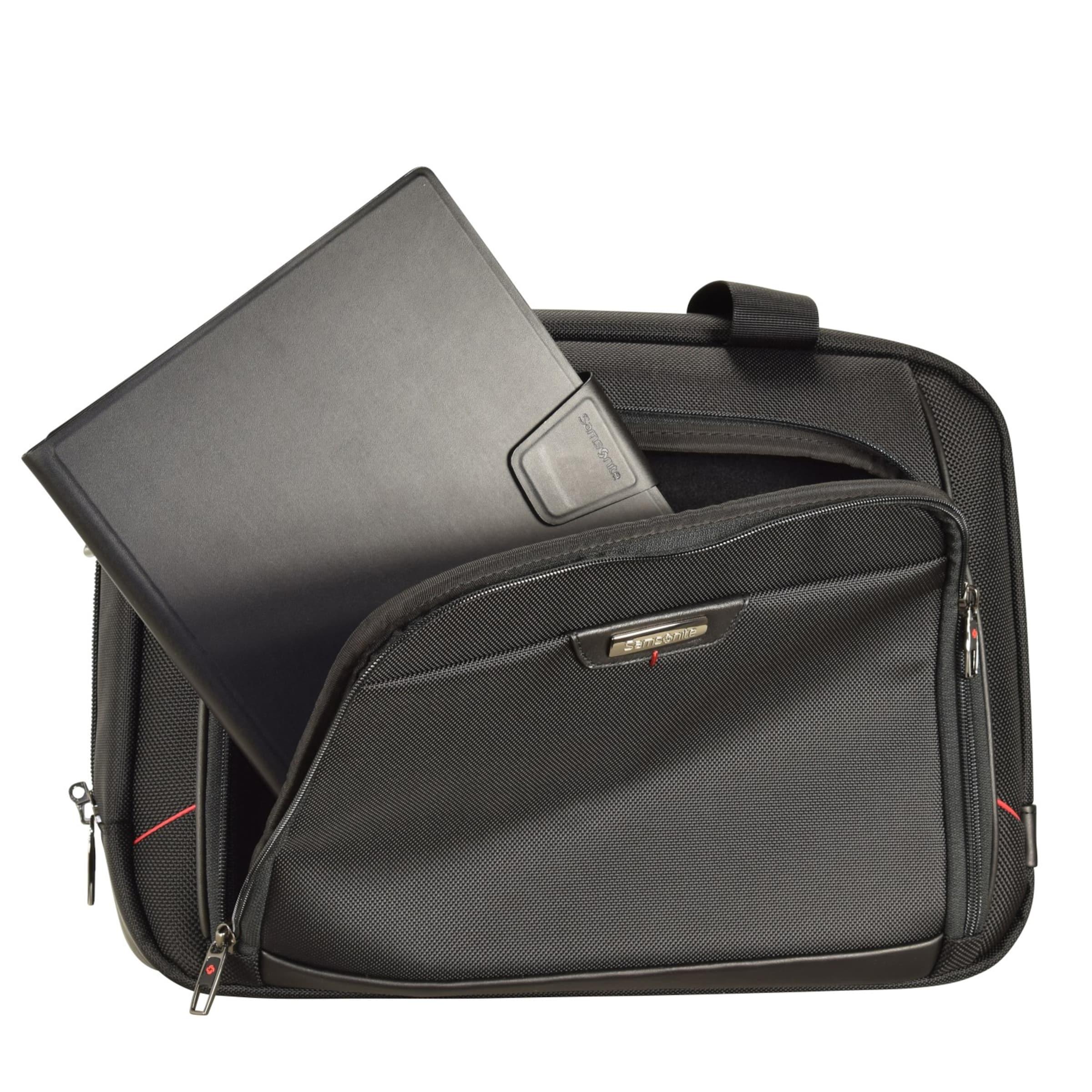 Business Pro Laptopfach 4 In Cm Samsonite Aktentasche 40 dlx Schwarz FKJcTl13