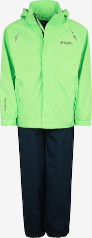ZigZag Regenanzug 'Ophir' in Grün