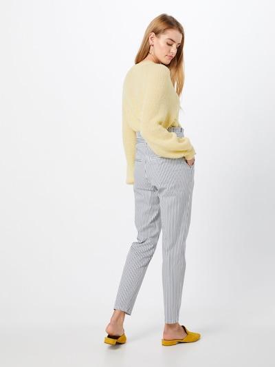 VERO MODA Spodnie 'Vmeva' w kolorze niebieski / białym: Widok od tyłu
