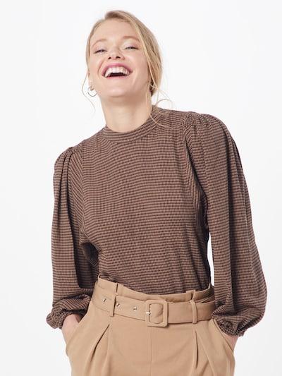 Samsoe Samsoe Bluse 'Harriet' in braun, Modelansicht