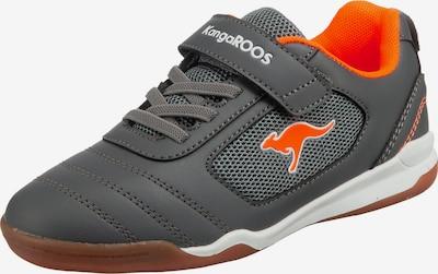 KangaROOS Sneaker 'Nicourt Ev' in graumeliert / orange, Produktansicht