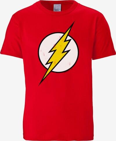 """LOGOSHIRT T-Shirt """"Der Rote Blitz"""" in gelb / rot / weiß, Produktansicht"""