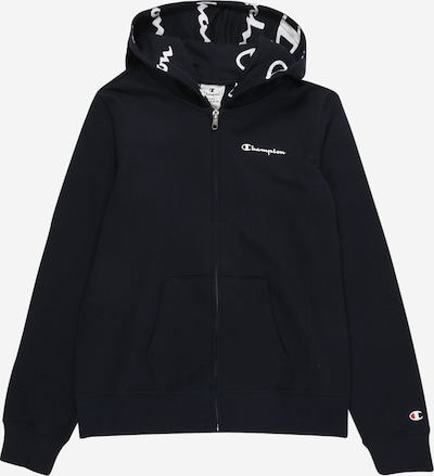 Champion Authentic Athletic Apparel Sweatjacke 'Hooded Full Zip Sweatshirt' in navy, Produktansicht