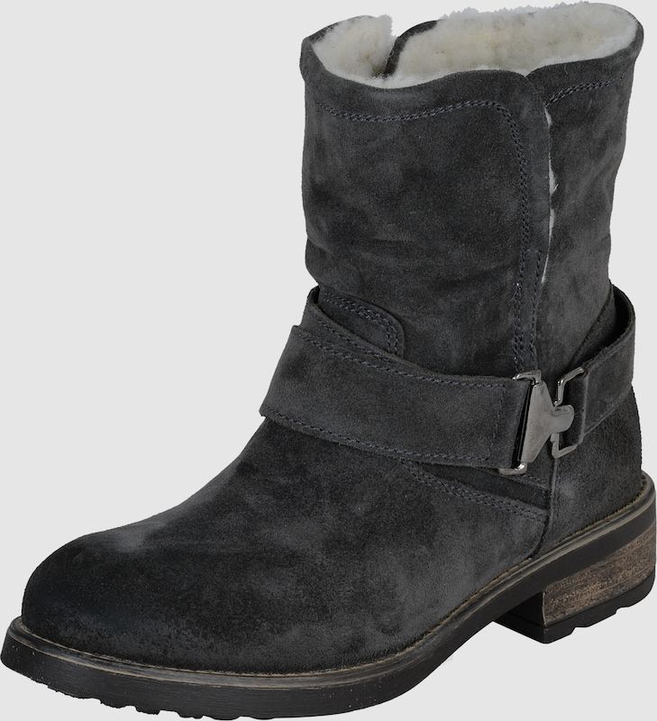Tamaris Ankle Boot With Shearing Wool-feeding