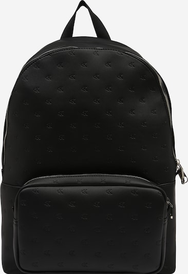 Calvin Klein Jeans Rucksack 'CKJ Monogram Emboss Campus BP45' in schwarz, Produktansicht