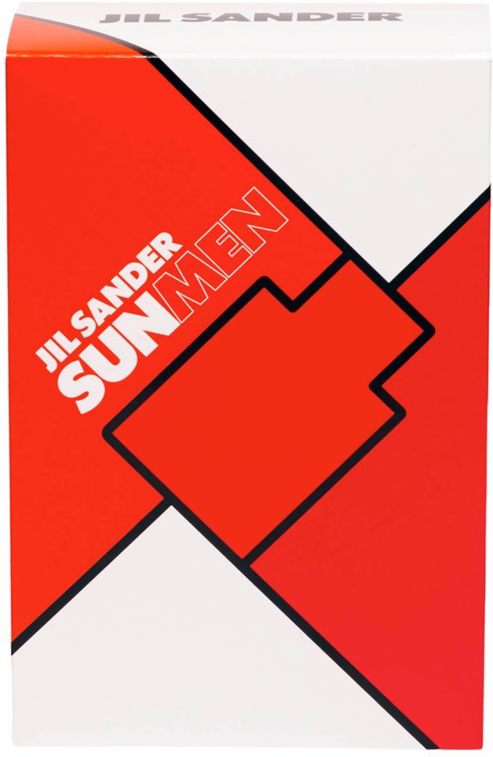 Sander OrangerotTransparent 'sun Men'Duftset2 TlgIn Jil RLA45j