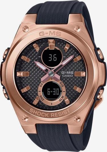 CASIO Uhr 'MSG-C100G-1AER' in rosegold / schwarz: Frontalansicht