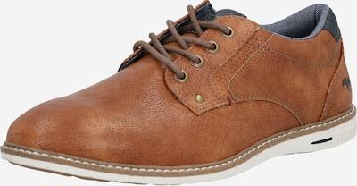 tengerészkék / konyak MUSTANG Fűzős cipő, Termék nézet