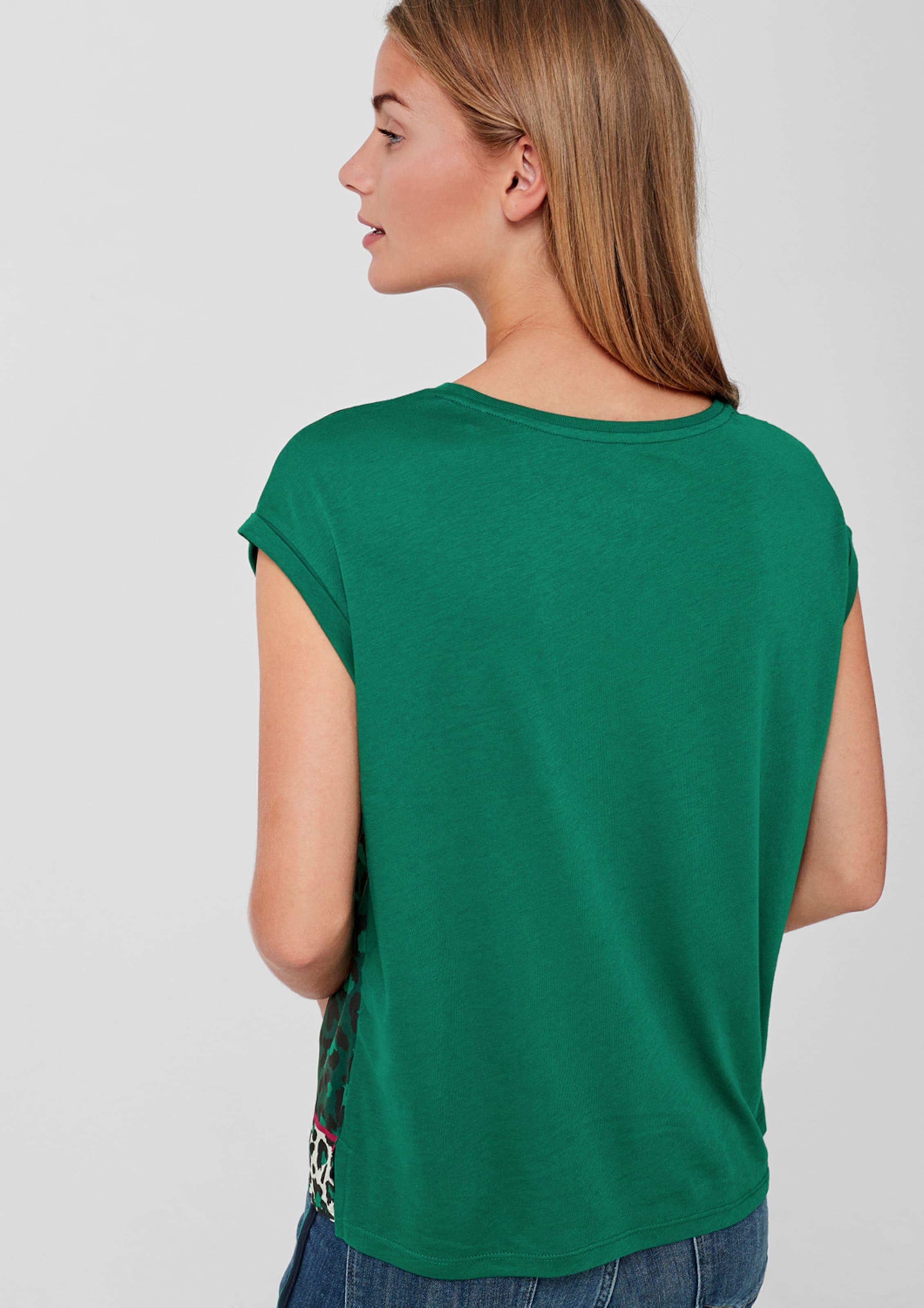 oliver Blusenshirt oliver In S S S Blusenshirt Grün In Grün n0POwk