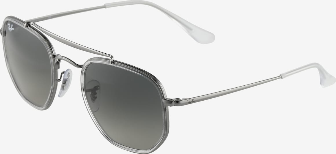 Ray-Ban Sonnenbrille 'THE MARSHAL II' in silber, Produktansicht