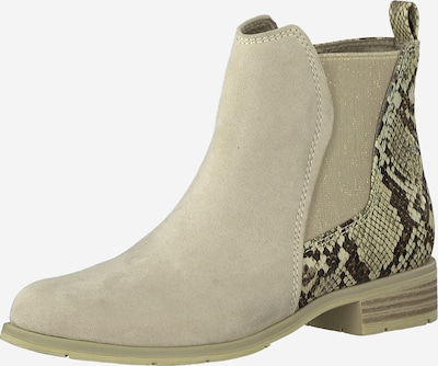 MARCO TOZZI Chelsea Boots en beige, Vue avec produit