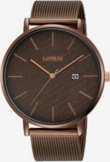 LORUS Uhr 'RH913LX9' in bronze, Produktansicht