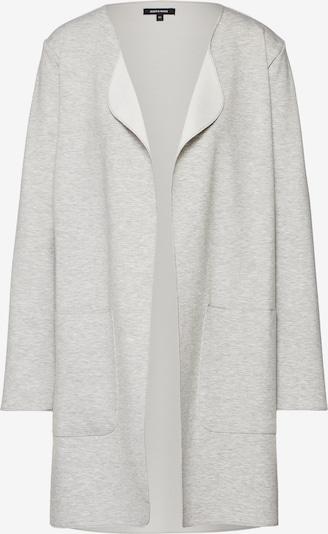 MORE & MORE Gebreid vest 'Jacke Wirk' in de kleur Grijs gemêleerd, Productweergave