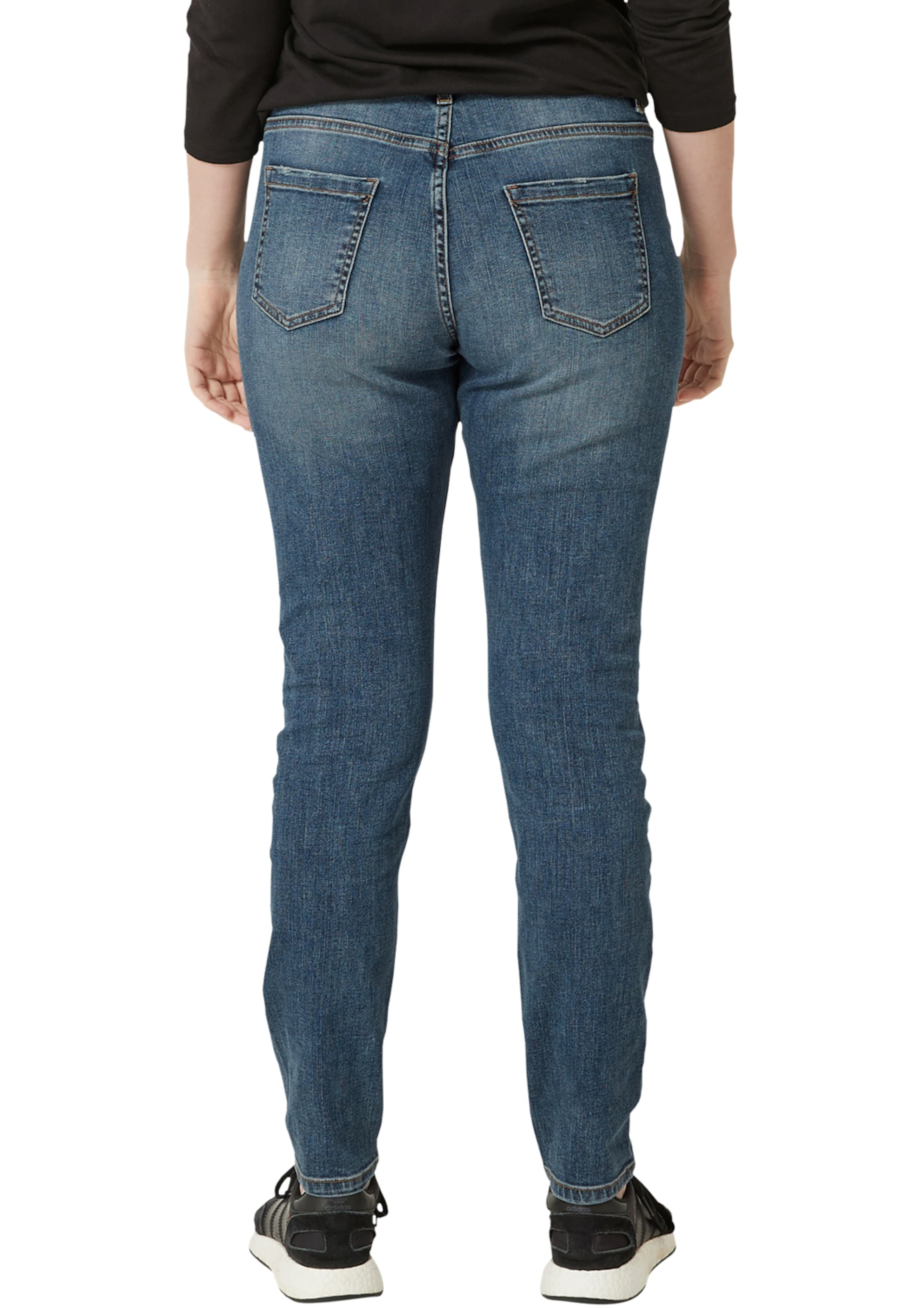 Triangle Stretchjeans 'fancy' In Blue Denim f7bY6gy