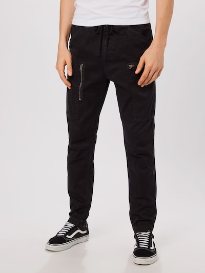 G-Star RAW Sportbroek 'Powel' in de kleur Zwart, Modelweergave