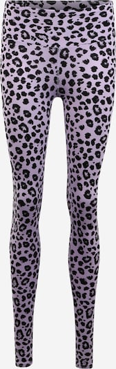 Hey Honey Leggings in lila / schwarz: Frontalansicht