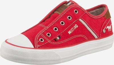MUSTANG Slip-On-Sneaker in rot, Produktansicht