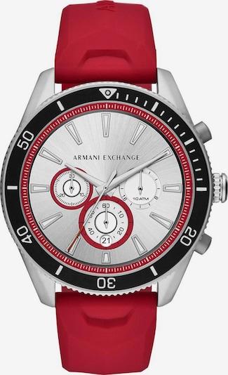 ARMANI EXCHANGE Uhr in rot, Produktansicht