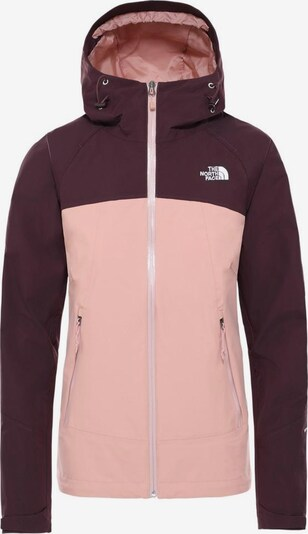 THE NORTH FACE Regenjacke 'Stratos in beere / rosa, Produktansicht