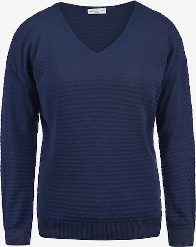 JACQUELINE de YONG Pullover 'Eugenia' in dunkelblau: Frontalansicht
