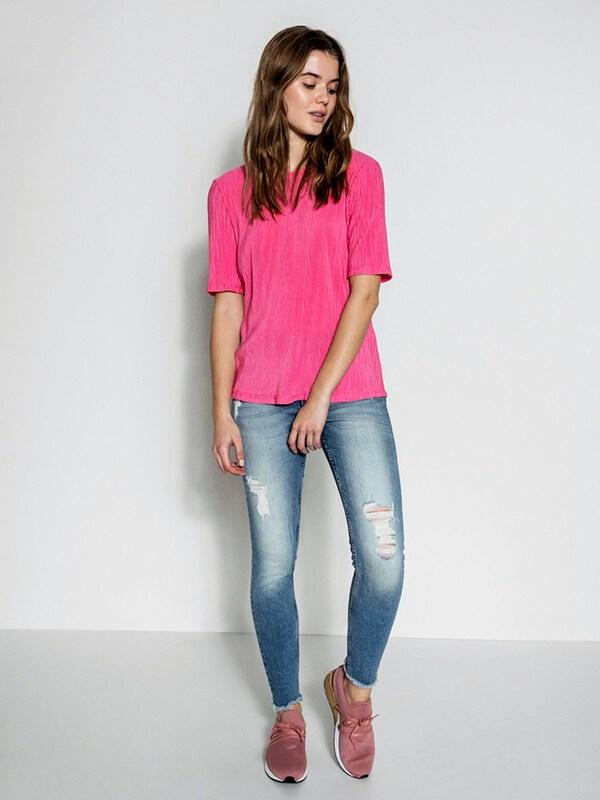 PIECES Einfarbige T-Shirt