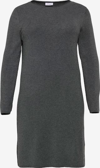sheego style Kleid in dunkelgrau, Produktansicht