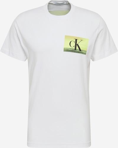 Calvin Klein Jeans Majica 'FESTIVAL PHOTOPRINT TEE' | bela barva, Prikaz izdelka