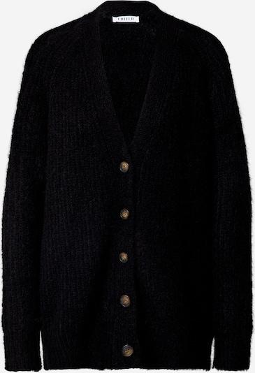 EDITED Strickjacke 'Eliandro' in schwarz, Produktansicht