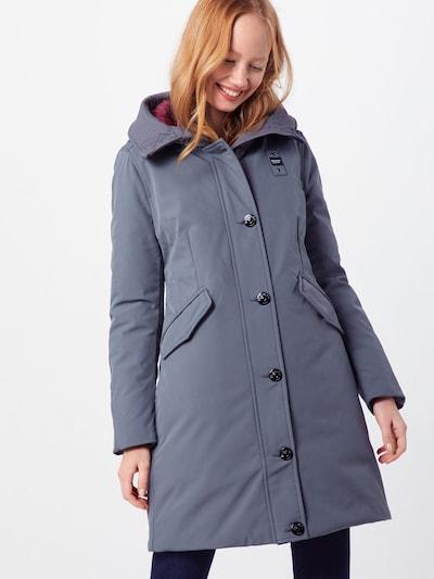 Blauer.USA Manteau d'hiver en gris, Vue avec modèle