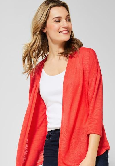 CECIL Strickjacke in rot, Modelansicht