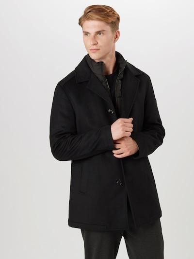 JOOP! Prehoden plašč 'Dannito' | črna barva, Prikaz modela