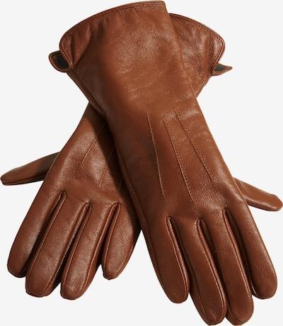 heine Full finger gloves in cognac, Item view