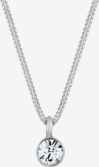 ELLI Halskette 'Kreis, Solitär-Kette' in silber, Produktansicht