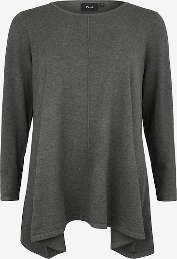 Zizzi Pullover 'Msell' in dunkelgrau, Produktansicht