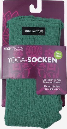 YOGISTAR.COM Yoga-socken in grün, Produktansicht