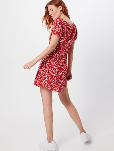 Pepe Jeans Kleid 'EMINA' in rot: Rückansicht
