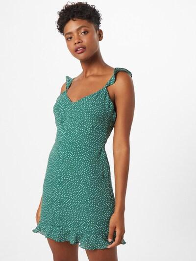 Abercrombie & Fitch Kleid in grün / weiß, Modelansicht