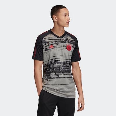 ADIDAS PERFORMANCE Shirt in grau / anthrazit: Frontalansicht